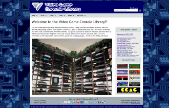 Video Game Console Library
