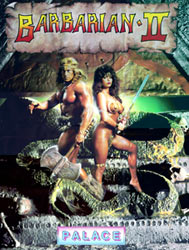 Barbarian II - Palace Software, nicer picture than the first Barbarian...