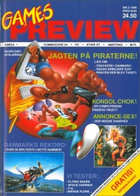Games Preview Nr 2 1989 - click the page numbers below to read the Konix articles in a new window