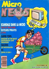 Micro News 026 November 1989 - click the page numbers below to read the Konix articles in a new window