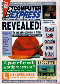 New Computer Express - click the page numbers below to read the Konix articles in a new window